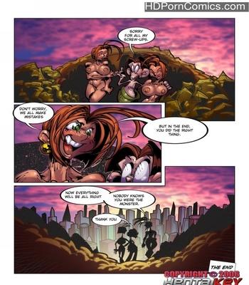 Lilly Heroine 17 - True Love 5 Sex Comic