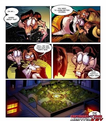 Lilly Heroine 18 - Halloween Stories Sex Comic