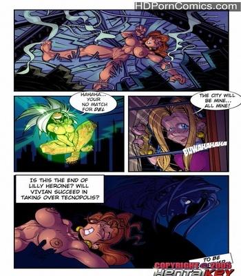 Lilly Heroine 3 - Sistem Bug 1 Sex Comic