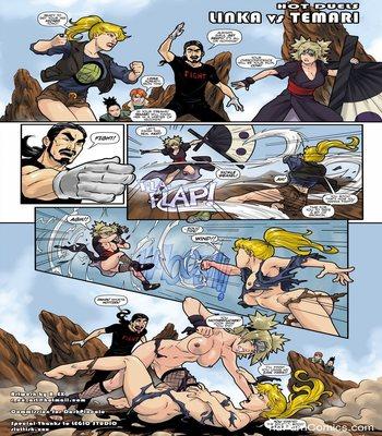 Hot Duels 1 – Linka VS Temari Sex Comic sex 2