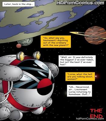 Lorna Space Encounter Sex Comic
