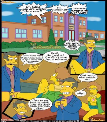 Los Simpsons 5- New Lessons2 free sex comic