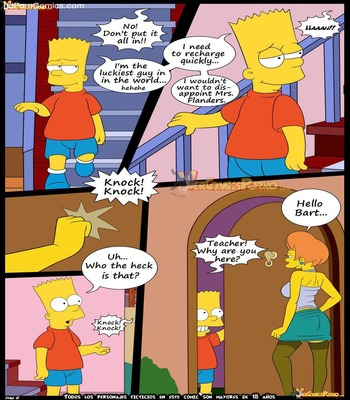 Los Simpsons 5- New Lessons7 free sex comic
