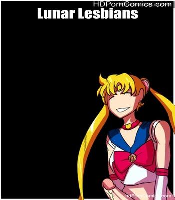 Porn Comics - Lunar Lesbians Sex Comic