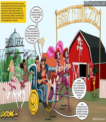 Porn Comics - Lustomic – Sissy Island Petting Zoo free Cartoon Porn Comic