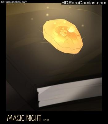Porn Comics - Magic Night Sex Comic
