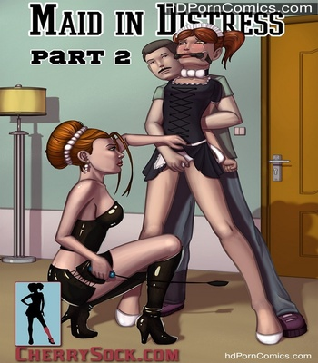 Porn Comics - Maid In Distress 2 Sex Comic