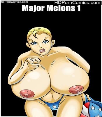 Porn Comics - Major Melons 1 Sex Comic