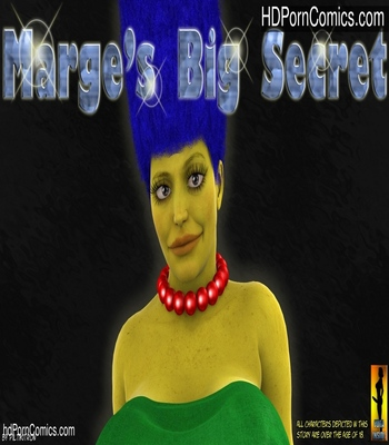 Porn Comics - Marge's Big Secret