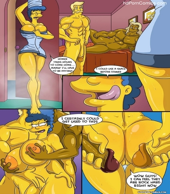 Marge's Erotic Fantasies 12 free sex comic