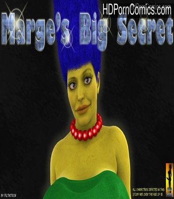 Porn Comics - Marges Big Secrets The Simpsons XXX free Porn Comic