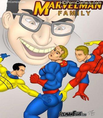 Porn Comics - Marvelman Family Sex Comic