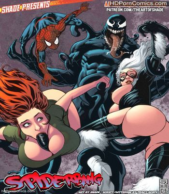 Mary Jane Watson- Spiderbang free Cartoon Porn Comic