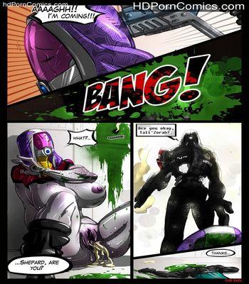 Mass Effect 2 Sex Comic