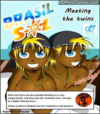 Porn Comics - Meeting The Twins Sex Comic