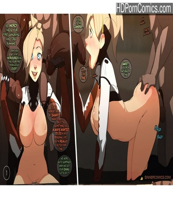 Porn Comics - Mercy The Casting Sex Comic