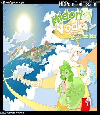 Porn Comics - Midori And Vodka Sex Comic