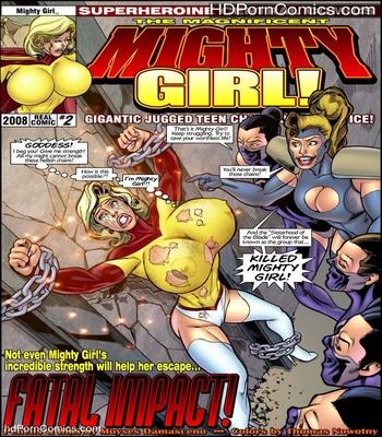 Porn Comics - Mighty Girl 2 Sex Comic