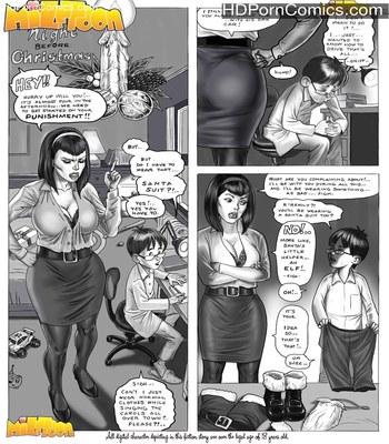 Porn Comics - Xmas Milftoon Porn Comic