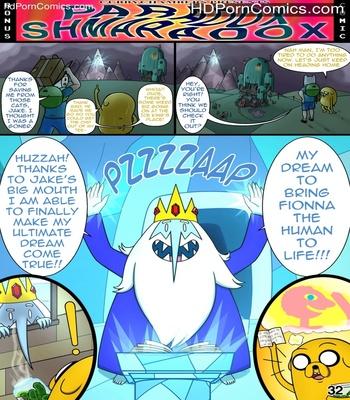 Porn Comics - MisAdventure Time 3 Extra – Paradox Shmaradox Sex Comic
