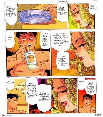 Miss DD – A Criminal Body Sex Comic