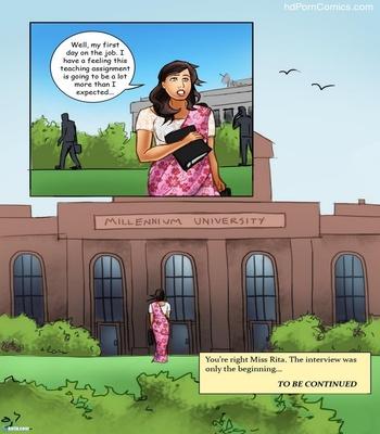 Miss Rita 1 – The Interview Sex Comic