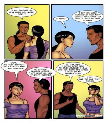 Miss Rita 11 - A Little Sexercise Helps Miss Rita Be More Flexible 15 free sex comic