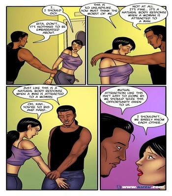 Miss Rita 11 - A Little Sexercise Helps Miss Rita Be More Flexible 18 free sex comic