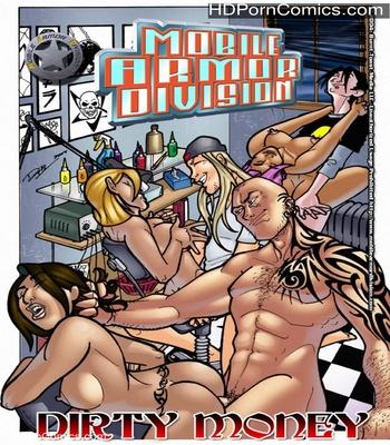 Porn Comics - Mobile Armor Division 5 – Dirty Money Sex Comic
