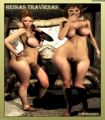 Porn Comics - Moiarte – Reinas Traviesas free Cartoon Porn Comic