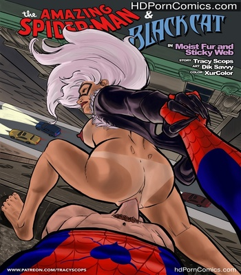 Porn Comics - Moist Fur And Sticky Web Sex Comic