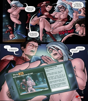 Moist Fur And Sticky Web Sex Comic