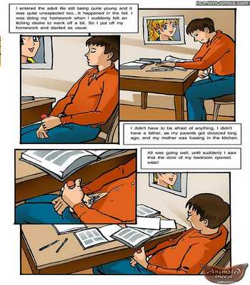 Mom's Home Task- Animated Incest1 free sex comic