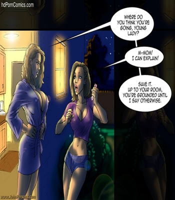 Mom Pounded Because Daughter Is Grounded comic porn sex 3