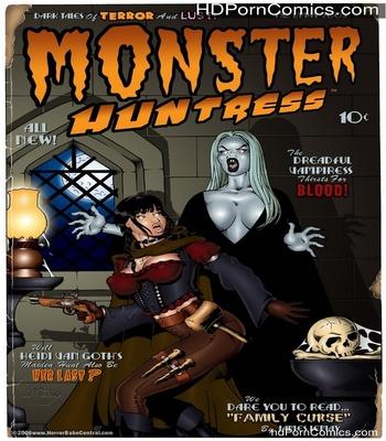 Porn Comics - Monster Huntress Sex Comic