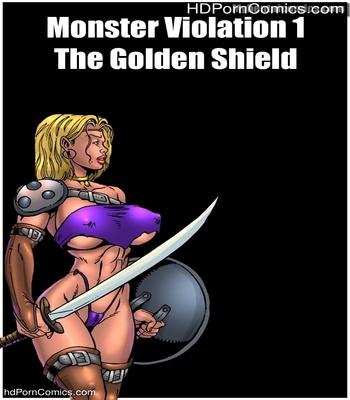 Porn Comics - Monster Violation 1 – The Golden Shield Sex Comic