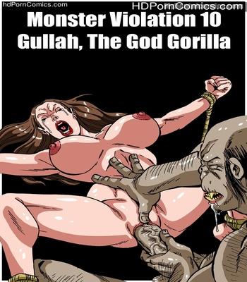 Porn Comics - Monster Violation 10 – Gullah, The God Gorilla Sex Comic