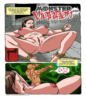 Monster Violation 10 – Gullah, The God Gorilla Sex Comic sex 2