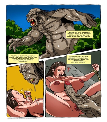 Monster Violation 10 – Gullah, The God Gorilla Sex Comic sex 3
