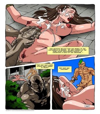 Monster Violation 10 – Gullah, The God Gorilla Sex Comic sex 6