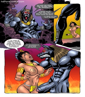 Monster Violation 3 – Anubis Attack Sex Comic sex 3