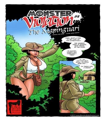 Monster Violation 4 – The Mapinguari Sex Comic sex 2