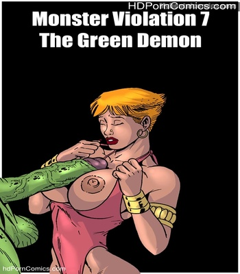Porn Comics - Monster Violation 7 – The Green Demon Sex Comic