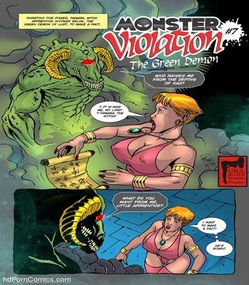 Monster Violation 7 – The Green Demon Sex Comic sex 2