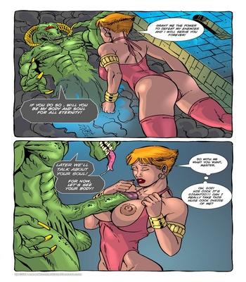 Monster Violation 7 – The Green Demon Sex Comic sex 3