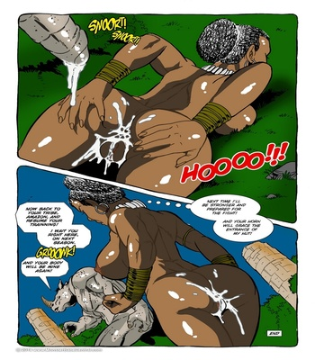 Monster Violation 8 – Rhinoman Sex Comic