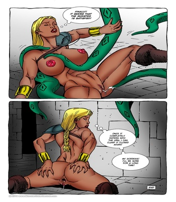Monster Violation 9 – Tentacles Sex Comic