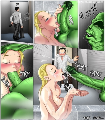 Monster Wedding Night Sex Comic