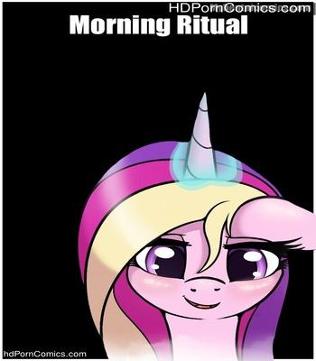 Porn Comics - Morning Ritual Sex Comic