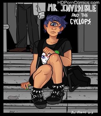 Porn Comics - Mr Invisible & The Cyclops Sex Comic
